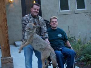 Brandon with Coyote