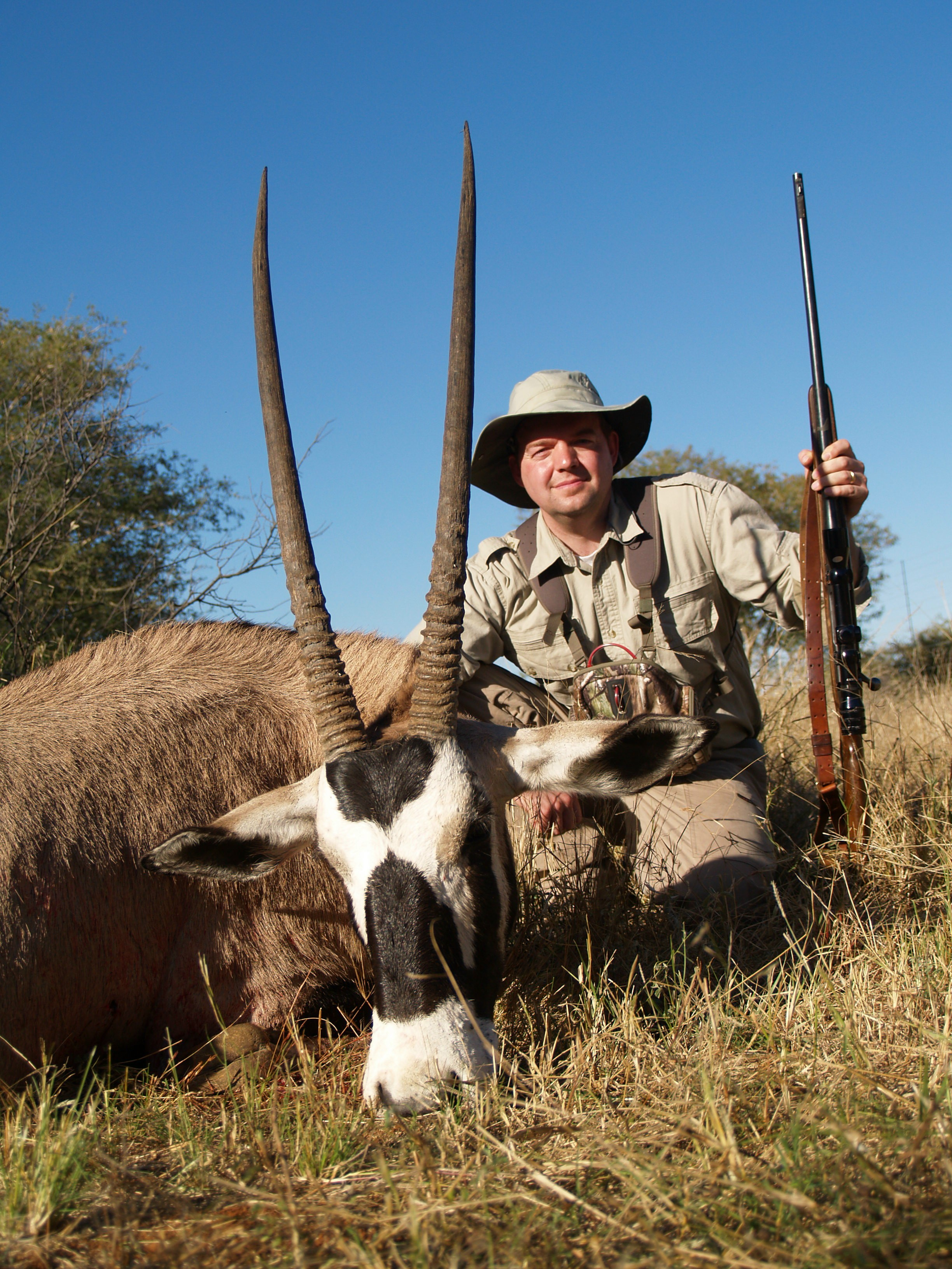 african hunting gemsbok the great white hunter the great white hunter. Black Bedroom Furniture Sets. Home Design Ideas
